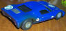Ford GT sidewinder, rear side view