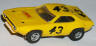 AFX translucent yellow Roadrunner