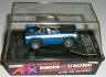 AFX magnatraction Baja Bronco blue slot car