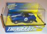 Johnny Lightning Snake Eyes AC Cobra, blue with white #15
