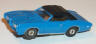 Johnny Lightning GTO in blue