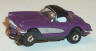 Johnny Lightning '60 Corvette hardtop in purple with black roof