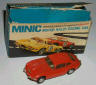 Minic boxed Jaguar E type 2+2 in red