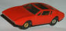TJet red Mangusta Mongoose slot car