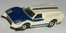 Aurora Thunderjet Ford J car, white with blue