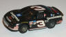 Tyco Monte Carlo Dale Earnhardt stocker 'Goodwrench' in black with white #3