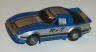 Tyco Mazda RX-7 Turbo in blue with silver and black