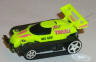 Tyco Fast Traxx in neon yellow #NCC 6207