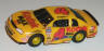 Tyco Monte Carlo Kodak stock car in yellow with red #4