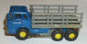 Aurora  vibrator stake truck in blue with grey stakes